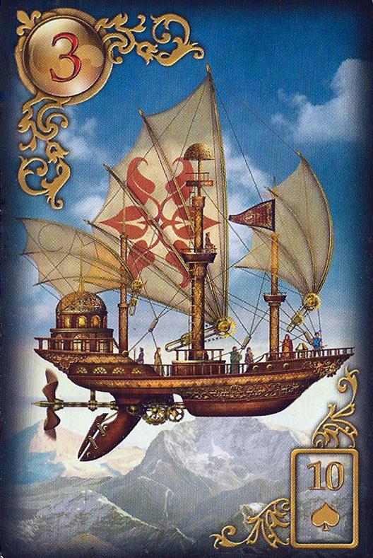 "Lenormand Tageskarte ""Das Schiff"""