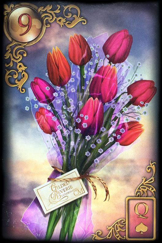 Lenormand Blumen Bedeutung