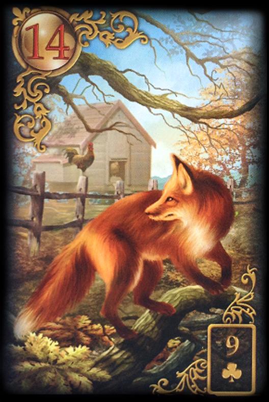 Lenormand Fuchs Bedeutung