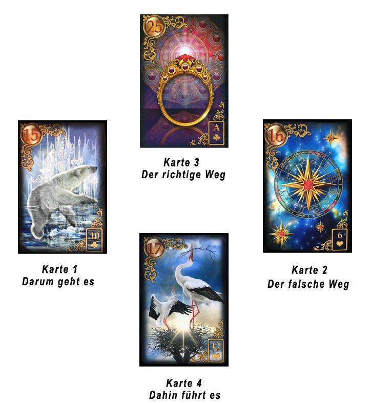 Brief Und Kreuz Lenormand : Kartenlegen besser mit wahrsage oder tarotkarten