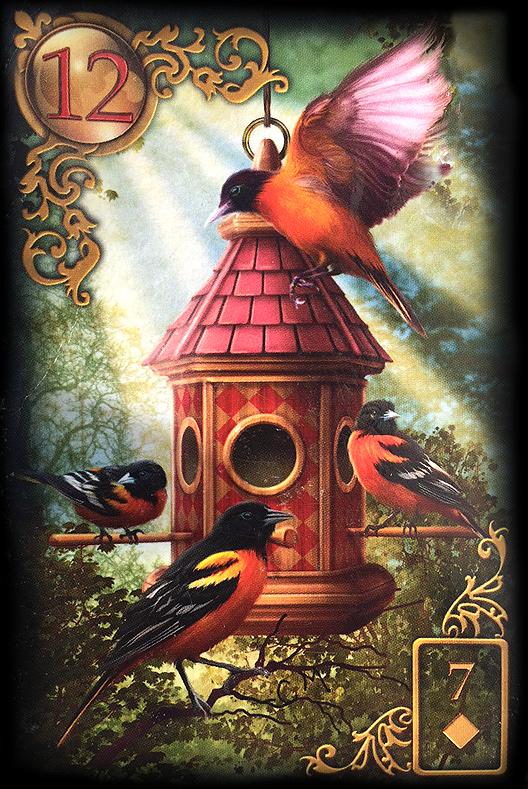Lenormand Vögel Bedeutung