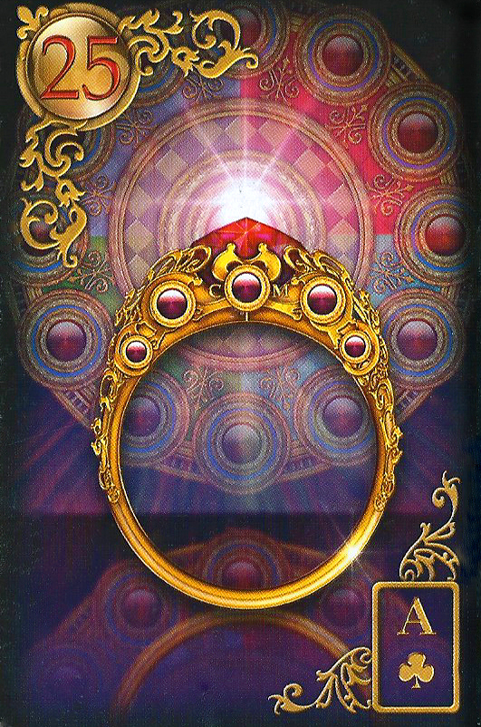 Meaning of the Lenormand Tarot Card the Ring