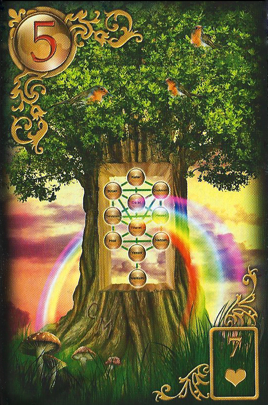 Meaning Lenormand Tarot Day Card The Tree